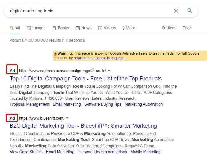 Google Search Ads Best Bloh Niche
