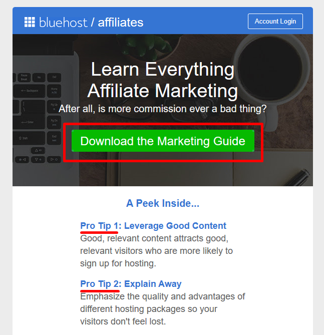 Bluehost Email Give Value Email Mailing Marketing