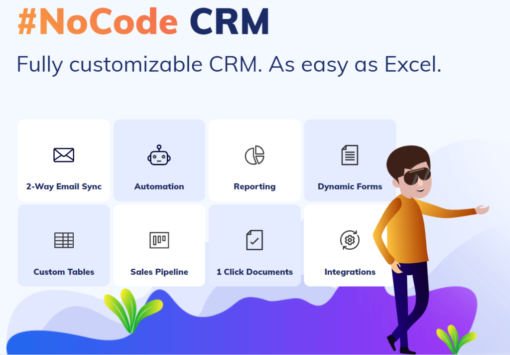 CompanyHub NO Code CRM and eMail Automation