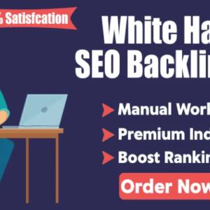 White Hat SEO Service – backlinks for website ranking boost